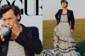 Harry Styles combatte la mascolinità tossica: è il primo uomo ad apparire da solo sulla copertina di Vogue